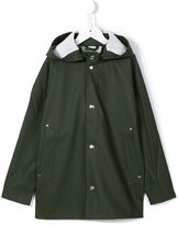 Stutterheim Kids - 'Stockholm' raincoat - kids - Cotton/Polyester/PVC - 6 yrs