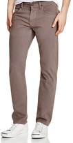 Hudson Blake Slim Straight Fit Jeans in Bishop Grey