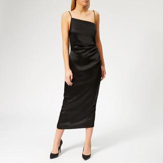 Bec & Bridge Women's Claudia Asymmetrical Dress - Black - UK 6 - Black