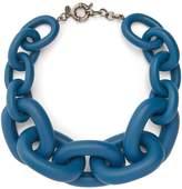 VANDA JACINTHO Chunky chain-link necklace