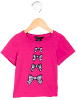 Little Marc Jacobs Girls' Printed Crew-Neck T-Shirt