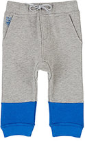 Kenzo Colorblocked Cotton French Terry Sweatpants
