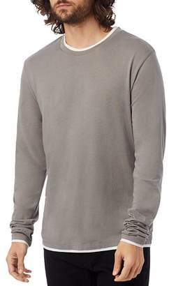Alternative Double-Layered Long-Sleeve Tee
