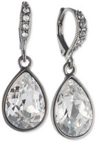 Givenchy Pear Stone Drop Earrings
