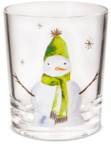 Threshold Double Old Fashioned 14oz Plastic Tumbler with Snowman