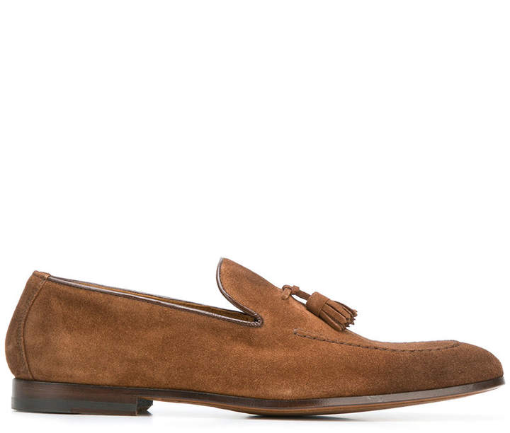 Doucal's tassel-embellished loafers