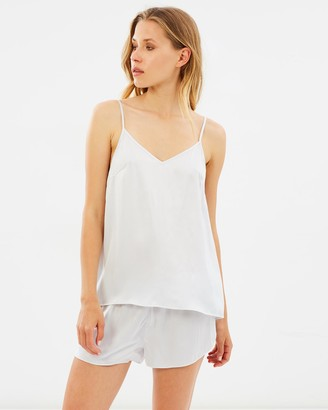 Papinelle Dove Silk Cami & Short