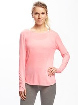 Old Navy Go-Dry Reversible Cross-Wrap Top for Women