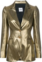 Moschino Pre Owned metallic fitted jacket