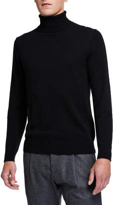 Neiman Marcus Men's Cashmere Turtleneck Sweater