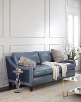Massoud Jaylin Leather Sofa