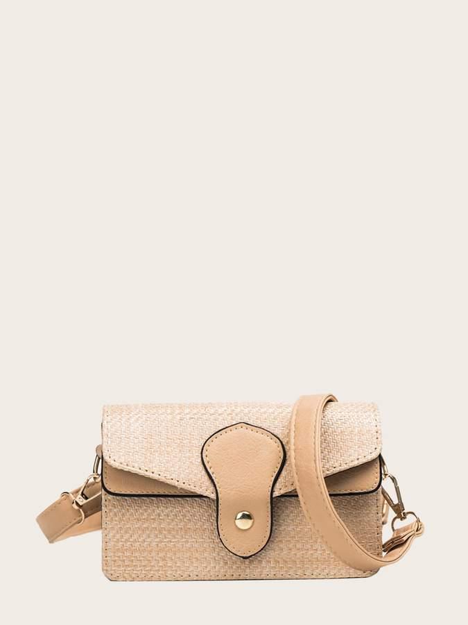 7732bc2e2d Shein Beige Shoulder Bags - ShopStyle