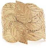 Forever 21 FOREVER 21+ Ornate Leaf Cuff Bracelet