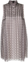 Philosophy di Lorenzo Serafini lace flared dress