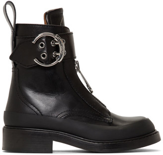 Chloé Black Roy Ankle Boots