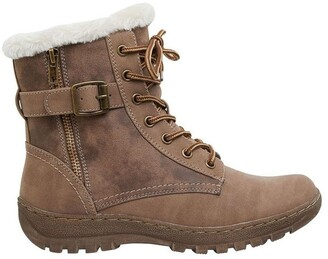 Easy Steps Elf Taupe Micro Boot