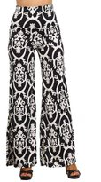 Private Label Womens High Waist Stretch Printed Palazzo Pants