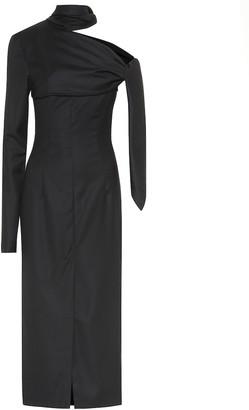MATÉRIEL Wool midi dress