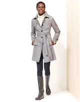 DKNY Coat, Quilted Trench Raincoat