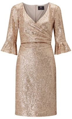 Ariella London Ariella Jordyn Sequin Lace Dress