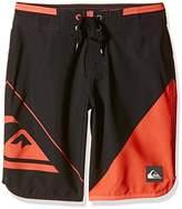 Quiksilver Boy's Newwaveyou17 B Bdsh Kvj7 Swim Shorts,(Manufacturer Size:24/8)