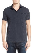 French Connection Men's Summer Ditsy Slim Fit Polo
