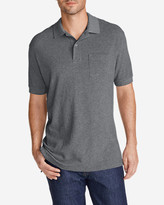 Eddie Bauer Men's Field Short-Sleeve Pocket Polo Shirt