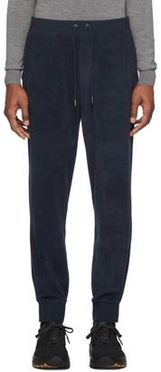 Ralph Lauren Purple Label Navy Fleece Jogger Trousers