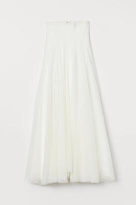 H&M Tulle Wedding Skirt - White