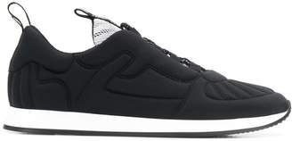 Fendi quilted slip-on sneakers
