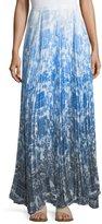 Catherine Malandrino Vera Pleated-Chiffon Maxi Skirt