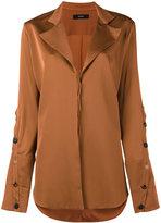 Ellery Explosive side slit shirt - women - Silk/Spandex/Elastane - 4