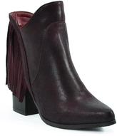 Hot Kiss Burgundy Sassy Boot