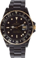 Black Limited Edition Matte Black & Gold Limited Edition Rolex GMT Master I