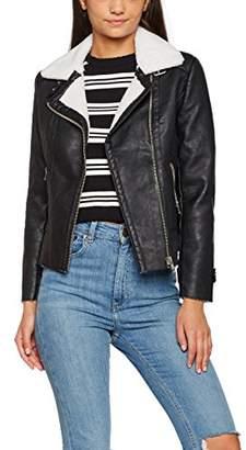 New Look Women's 3924770 Jacket, Black