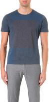 HUGO BOSS Block-print cotton t-shirt