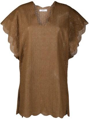 Marysia Swim Perforated Cotton Dress