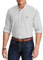 Polo Ralph Lauren Big & Tall Checked Oxford Long-Sleeve Woven Shirt