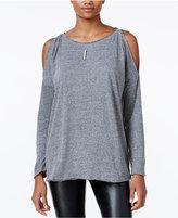 Rachel Roy Cold-Shoulder Top, Only at Macy's