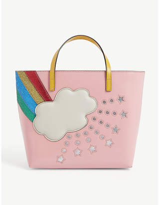 Gucci Rainbow leather tote