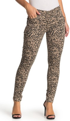 Democracy Ab Technology Animal Print Jeggings (Petite)