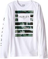 Hurley Pair Of Dice Long Sleeve Tee (Big Kids)