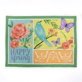 """Celebrate Spring Together """"Happy Spring"""" Patchwork Placemat"""