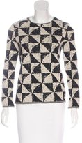Chanel Cashmere Printed Top