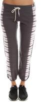 Monrow Border Tie Dye Vintage Sweatpant