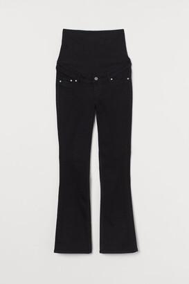 H&M MAMA Bootcut Jeans - Black