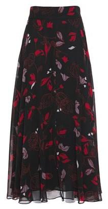 Diane von Furstenberg Tonnah Printed Chiffon Maxi Skirt
