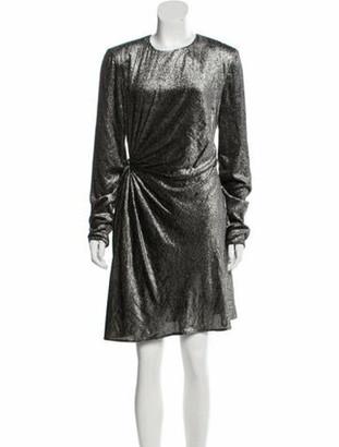Saint Laurent 2018 Fil Coupe Dress w/ Tags Black
