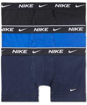 Nike Men's 3-Pack Everyday Stretch Trunk Briefs
