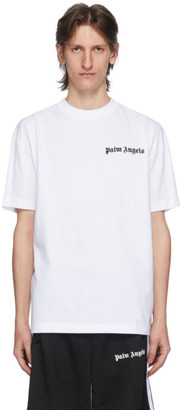 Palm Angels Two-Pack White and Black New Basic T-Shirt